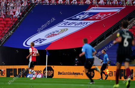 Be Gamble Aware LED and Sky Bet branded Corner Canopy