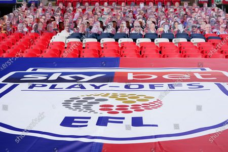 Editorial image of Exeter City v Northampton Town, Sky Bet League Two Play-off Final, Football, Wembley Stadium, London, UK - 29 Jun 2020