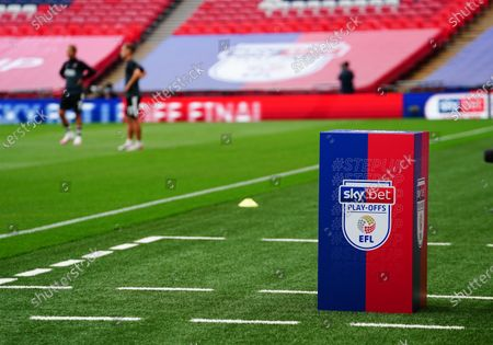 The Sky Bet Play off EFL trophy plinth