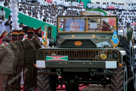 Editorial picture of Nkurunziza Funeral, Gitega, Burundi - 26 Jun 2020