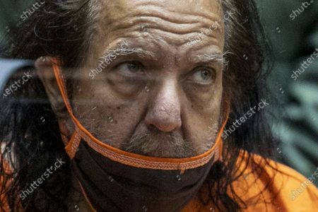 Adult film star Ron Jeremy appears for his arraignment on rape and sexual assault charges at Clara Shortridge Foltz Criminal Justice Center in Los Angeles, California, USA, 26 June 2020. Jeremy, whose real name is Ronald Jeremy Hyatt, is charged with raping three women and sexually assaulting another in separate incidents between 2014 and 2019. The 67-year-old defendant could face up to 90 years to life in state prison if convicted as charged.
