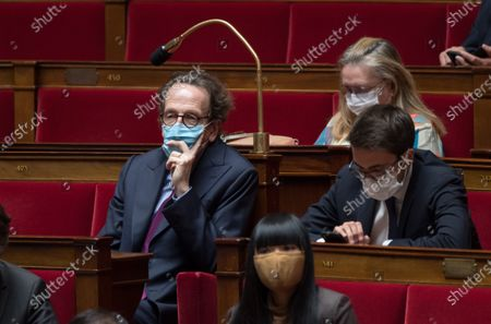 Gilles Le Gendre during the weekly session of questions to the government at the national Assembly.