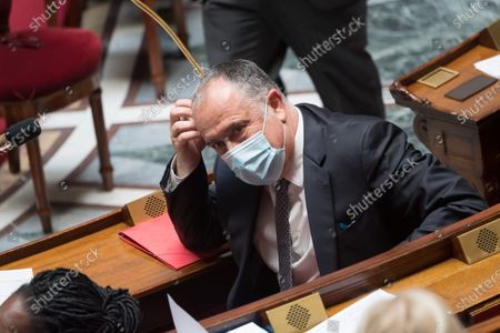 French Agriculture and Food Minister Didier Guillaume during the weekly session of questions to the government at the national Assembly.