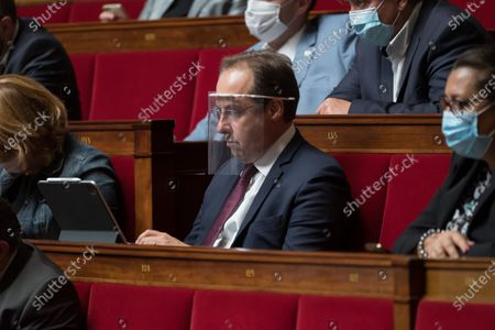 Jean-Christophe Lagarde during the weekly session of questions to the government at the national Assembly.