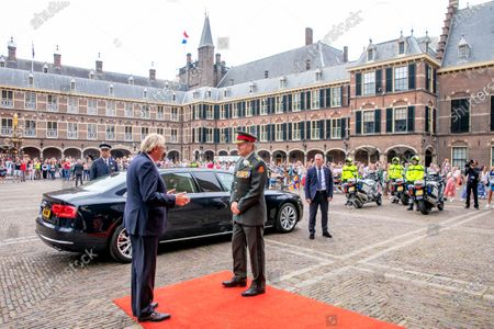 Editorial picture of Veterans Day, Ridderzaal, The Hague, The Netherlands - 27 Jun 2020