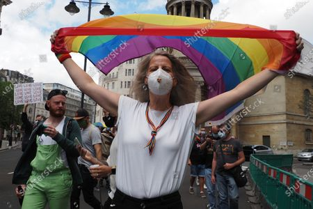 Gay Liberation Front veterans march through London