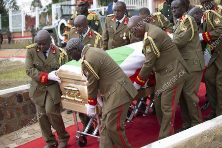Editorial image of Burundi Gitega Late President Funeral - 26 Jun 2020