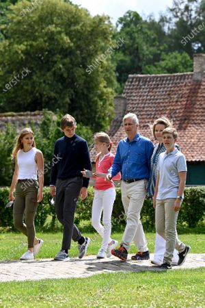 Editorial picture of Belgian Royal Family visit to Limburg, Belgium - 27 Jun 2020