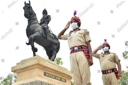 Editorial picture of Death Anniversary Of Maharaja Ranjit Singh Observed, Amritsar, Punjab, India - 27 Jun 2020
