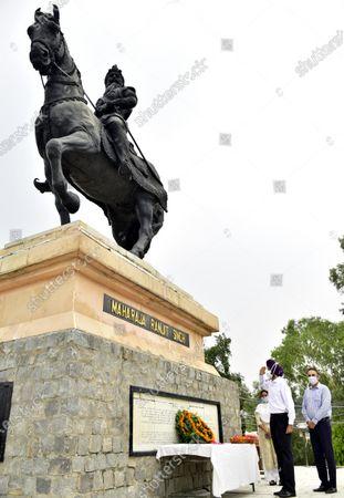 Editorial photo of Death Anniversary Of Maharaja Ranjit Singh Observed, Amritsar, Punjab, India - 27 Jun 2020