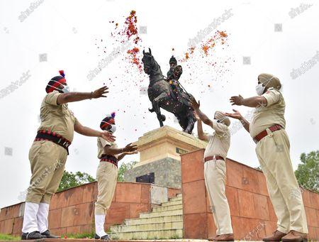 Editorial image of Death Anniversary Of Maharaja Ranjit Singh Observed, Amritsar, Punjab, India - 27 Jun 2020