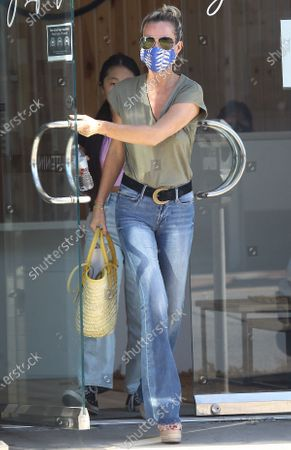 Editorial picture of Laeticia Hallyday out and about, Los Angeles, California, USA - 27 Jun 2020