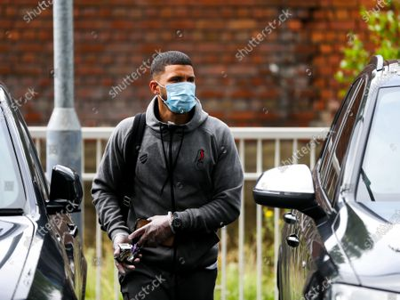 Nahki Wells of Bristol City arrives
