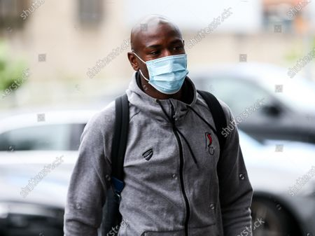 Benik Afobe of Bristol City arrives