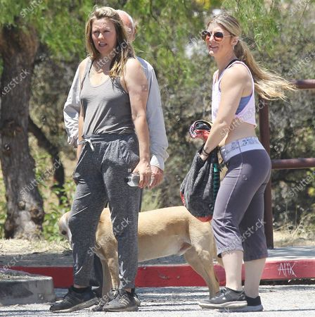 Stock Picture of Alicia Silverstone counts of the help of others to find her dogs that were lost during her hiking