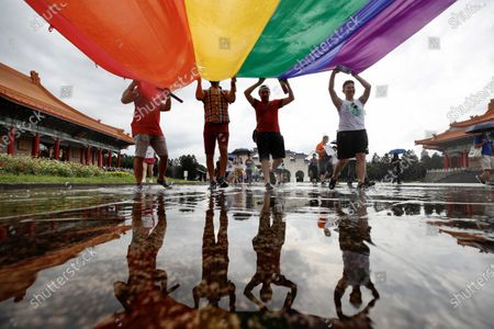 Editorial picture of LGBT Pride March in Taipei, Taiwan - 28 Jun 2020