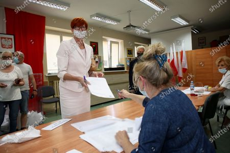 Editorial image of Voting in Poland's presidential elections, Gorzow Wielkopolski - 28 Jun 2020