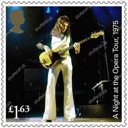 A set of 13 stamps are being issued as a tribute to the musical contribution of rock band Queen.The UK's Royal Mail hailed the quartet as one of the most popular and enduring groups of all time.Eight stamps will feature images of some of their most popular and iconic album covers: Queen II, 1974; Sheer Heart Attack, 1974; A Night at the Opera, 1975; News of the World, 1977; The Game, 1980; Greatest Hits, 1981; The Works, 1984; and Innuendo, 1991Drummer Roger Taylor said: What an honour. We must be really part of the furniture now! And guitarist Brian May said: It's hard to put into words what I feel when looking at these beautiful stampsRenowned for the extravagance of their stage shows, Queen's live performances are celebrated in a miniature sheet of additional stamps.These show images fro gigs at three London venues --Wembley Stadium, 1986; Hyde Park, 1976 and Hammersmith Odeon, 1975.The fourth stamp is a performance in Budapest, Hungary, 1986.Each shows off a member of the band -- late singer Freddie Mercury at Wembley Stadium,; Roger Taylor at Hyde Park,; now retired bass player John Deacon at Hammersmith Odeon and Brian May in Budapest.Also included in the miniature-sheet is the iconic shot taken at the group's first ever studio photo shoot in a Primrose Hill studio in 1974The stamps will go on general sale from 9 July 2020A set of four show the group in concert, highlighting each member.John Deacon, Hammersmith Odean, 1975