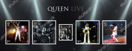A set of 13 stamps are being issued as a tribute to the musical contribution of rock band Queen.The UK's Royal Mail hailed the quartet as one of the most popular and enduring groups of all time.Eight stamps will feature images of some of their most popular and iconic album covers: Queen II, 1974; Sheer Heart Attack, 1974; A Night at the Opera, 1975; News of the World, 1977; The Game, 1980; Greatest Hits, 1981; The Works, 1984; and Innuendo, 1991Drummer Roger Taylor said: What an honour. We must be really part of the furniture now! And guitarist Brian May said: It's hard to put into words what I feel when looking at these beautiful stampsRenowned for the extravagance of their stage shows, Queen's live performances are celebrated in a miniature sheet of additional stamps.These show images fro gigs at three London venues --Wembley Stadium, 1986; Hyde Park, 1976 and Hammersmith Odeon, 1975.The fourth stamp is a performance in Budapest, Hungary, 1986.Each shows off a member of the band -- late singer Freddie Mercury at Wembley Stadium,; Roger Taylor at Hyde Park,; now retired bass player John Deacon at Hammersmith Odeon and Brian May in Budapest.Also included in the miniature-sheet is the iconic shot taken at the group's first ever studio photo shoot in a Primrose Hill studio in 1974The stamps will go on general sale from 9 July 2020A Royal Mail spokeswoman said: With more than 300 million record sales across five decades, they are one of the most successful music artists of all time.Pix: Five of the new Queen stamps showing highlighted live performances of each member plus the group's first official photo shoot.