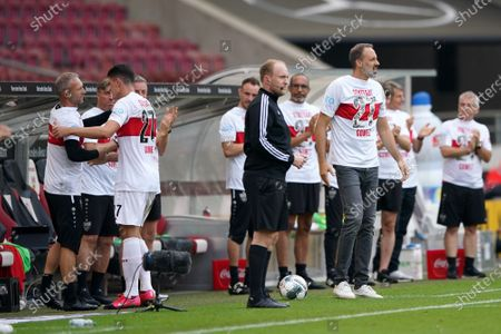 Editorial photo of VfB Stuttgart vs SV Darmstadt 98, Germany - 28 Jun 2020