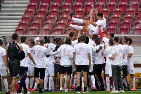 Editorial picture of VfB Stuttgart vs SV Darmstadt 98, Germany - 28 Jun 2020