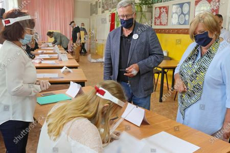 Editorial picture of Poland holds first round of presidential election, postponed due to coronavirus, Mackowa Ruda - 28 Jun 2020