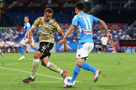 Editorial photo of SSC Napoli vs SPAL Ferrara, Naples, Italy - 28 Jun 2020