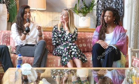 Gabriella Wright, Elisabeth Rohm and Rebecca Watson
