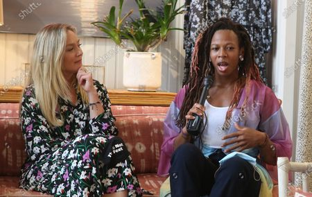 Editorial picture of lisabeth Rohm hosts a Respect Talk on How To Cultivate More Bliss in Today's World, Los Angeles, USA - 28 Jun 2020