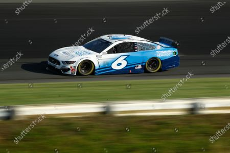 Ryan Newman competes in the NASCAR Cup Series auto race at Pocono Raceway, in Long Pond, Pa