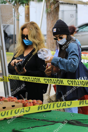Editorial image of Catherine Bach out and about, Los Angeles, USA - 28 Jun 2020