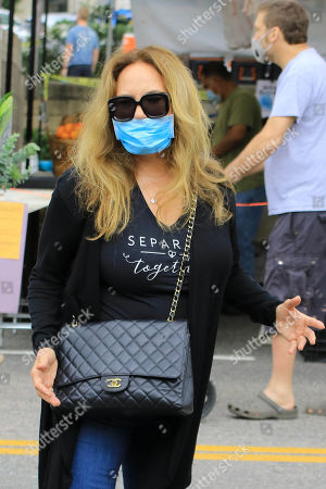 Editorial photo of Catherine Bach out and about, Los Angeles, USA - 28 Jun 2020