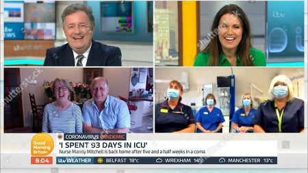Piers Morgan, Susanna Reid and Mandy Mitchell