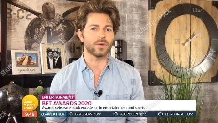 Editorial photo of 'Good Morning Britain' TV Show, London, UK - 29 Jun 2020