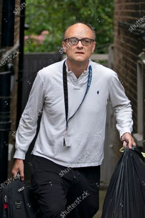 British Prime Minister Boris Johnson's Special Advisor, Dominic Cummings leaves his home in London, Britain, 29 June 2020. It has been reported Mr Cummings is helping British Prime Minister Boris Johnson with reforms and changes to how the British civil service operates following Cabinet Secretary and National Security advisor Sir Mark Sedwill announcing he is due to step down in September.