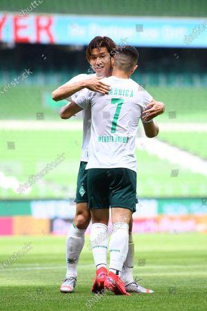 2-0: Milot Rashica (Werder Bremen) and Yuya Osako (Werder Bremen)