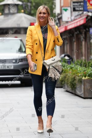 Editorial image of Jenni Falconer out and about, London, UK - 29 Jun 2020
