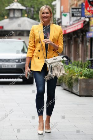 Editorial picture of Jenni Falconer out and about, London, UK - 29 Jun 2020