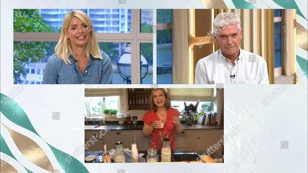 Holly Willoughby, Phillip Schofield and Liz Earle