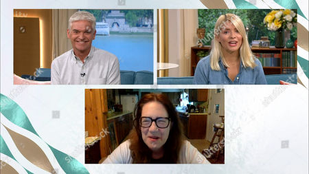 Stock Photo of Phillip Schofield, Holly Willoughby and Ann Dowd