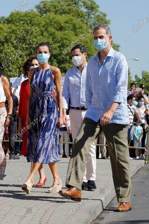 Editorial picture of King Felippe VI and Queen Letizia visit Seville, Sevilla, Spain - 29 Jun 2020