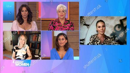 Andrea McLean, Denise Welch, Carol McGiffin, Saira Khan and Danielle Lloyd