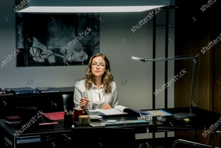 Stock Picture of Janina Uhse as Nicole Kleber