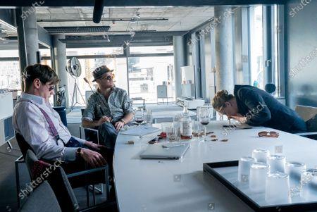 David Kross as Viktor Steiner and Frederick Lau as Gerry Falkland