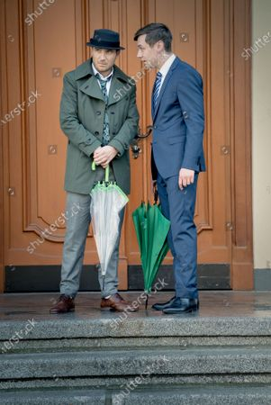 Frederick Lau as Gerry Falkland and David Kross as Viktor Steiner