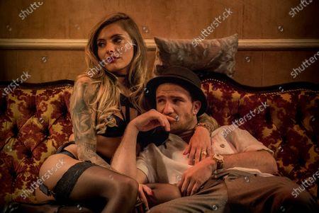 Sophia Thomalla as Chantal and Frederick Lau as Gerry Falkland