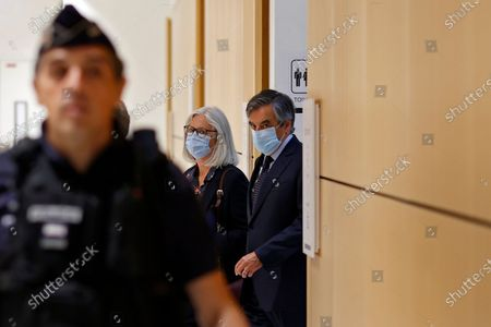 Editorial photo of Trial of ex-French Prime Minister Fillon and his wife in Paris, France - 29 Jun 2020