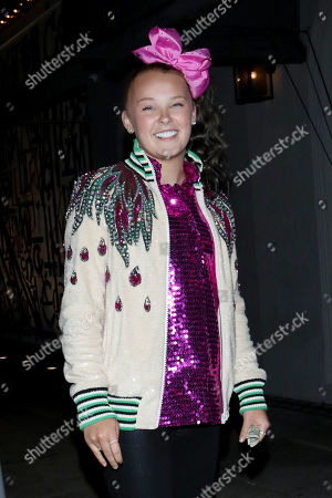Editorial image of JoJo Siwa out and about, Los Angeles, USA - 28 Jun 2020