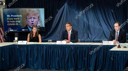 Editorial picture of NYS Governor Cuomo makes an announcement, New York, United States - 29 Jun 2020