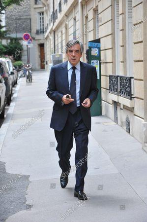 Editorial image of France's former Prime Minister Francois Fillon at court, Paris, France - 29 Jun 2020